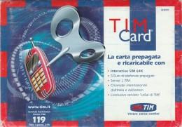 CONFEZIONE ORIGINALE TIM CARD (BV735 - [3] Erreurs & Variétées