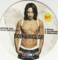 FREE CARD TIM BOB SINCLAIR (BV736 - Italy