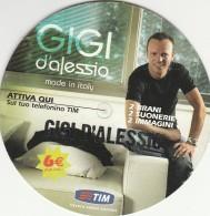 FREE CARD TIM GIGI D'ALESSIO (BV737 - Italy