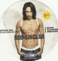 FREE CARD TIM BOB SINCLAIR (BV742 - Italy