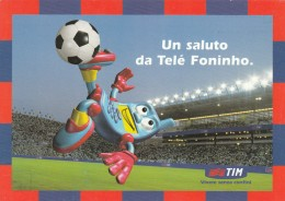CARTOLINA TIM UN SALUTO DA TELE FONINHO (BV748 - Fouten & Varianten