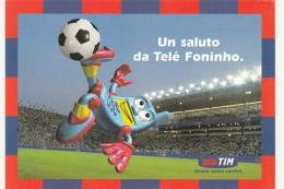CARTOLINA TIM UN SALUTO DA TELE FONINHO (BV750 - Italy