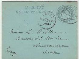 Egypte // Entier Postaux // Entier Postal Pour Lausanne (Suisse) - Égypte