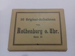 10 Fotografias De Rothenburg Ob Der Tauber. Alemania. Baviera - Lieux