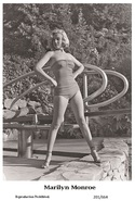 MARILYN MONROE - Film Star Pin Up PHOTO POSTCARD - 201-664 Swiftsure Postcard - Postales
