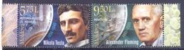 2018. Moldova, Inventions And Discoveries Which Changed The World, 2v, Mint/** - Moldova