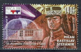 French Polynesia, Milan Rastilav Stephanik, 2018, MNH VF - Unused Stamps