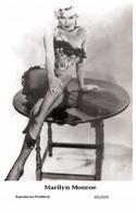 MARILYN MONROE - Film Star Pin Up PHOTO POSTCARD - 201-633 Swiftsure Postcard - Postales