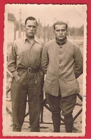 Carte Photo  - Prisonniers De Guerre --  Stalag VIII C -  Sagan  ( Maintenant Zagan En Pologne) - War 1939-45