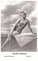 MARILYN MONROE - Film Star Pin Up PHOTO POSTCARD - 201-1034 Swiftsure Postcard - Postales