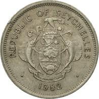 Monnaie, Seychelles, 25 Cents, 1982, British Royal Mint, TTB, Copper-nickel - Seychelles