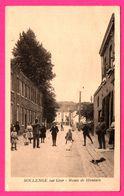 Roclenge Sur Geer - Route De Houtain - Enfants - Animée - Edit. HENRI KAQUET Montegnée - Bassenge