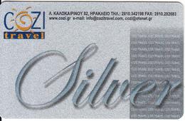 GREECE - Cozi Travel, Silver Member Card, Unused - Unclassified