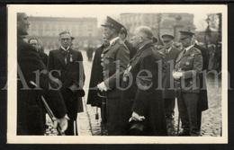 Postcard / ROYALTY / Belgique / België / Koning Leopold III / Roi Leopold III / Anniversaire Bataille De L'Yser / 1936 - Characters