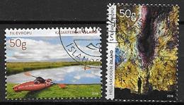 Islande 2018 Série Oblitérée Tourisme - 1944-... Republik