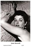 JANE RUSSELL - Film Star Pin Up PHOTO POSTCARD - 21-97 Swiftsure Postcard - Postales
