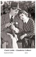 HOLLYWOOD COUPLES - Film Star Pin Up PHOTO POSTCARD - B3-76 Swiftsure Postcard - Postales