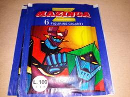Z Manzinga  Bustina Chiusa Con Figurine 1980 - Adesivi