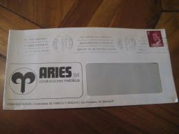 ARIES S.A. Construcciones Metalicas MADRID 1982 Corner Cover SPAIN Astrology Astrologie Zodiac Zodiaque - Astrologie