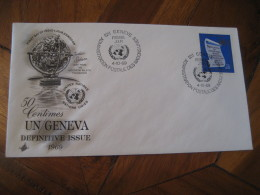 ZODIAC Sphere GENEVE 1969 FDC Cancel Cover UNITED NATIONS SWITZERLAND Astrology Astrologie Zodiac Zodiaque - Astrologie