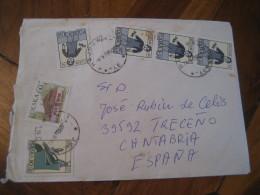Rak Wodnik HAJNOWKA 1997 Stamps On Cover POLAND Astrology Astrologie Zodiac Zodiaque - Astrologie