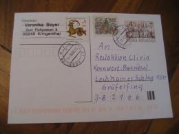 KRASLICE 2000 Stamp On Postal Stationery Card CZECHOSLOVAKIA Astrology Astrologie Zodiac Zodiaque - Astrologie