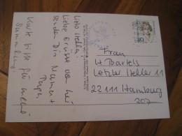 Witch Hexentanzplatz Thale ?RDHAUSEN 1997 Cancel Post Card GERMANY Astrology Astrologie Zodiac Zodiaque - Astrologie