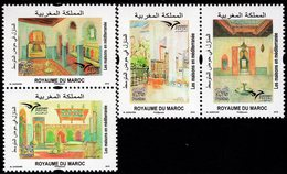 Morocco - 2018 - Euromed - Houses Of The Mediterranean - Mint Stamp Set - Morocco (1956-...)
