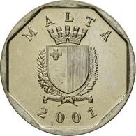 Monnaie, Malte, 5 Cents, 2001, British Royal Mint, SUP, Copper-nickel, KM:95 - Malta