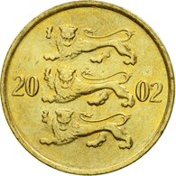 Monnaie, Estonia, 10 Senti, 2002, No Mint, TTB, Aluminum-Bronze, KM:22 - Estonie