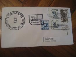 KIWANIS Club MINNEAPOLIS 1982 Cancel Cover USA - Rotary, Lions Club