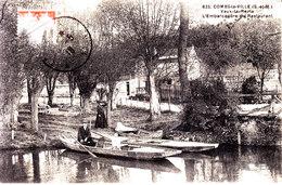 77 . Seine Et Marne .  Combs La Ville .   Vaux La Reine . L  ' Embarcadere  Du Restaurant . - Combs La Ville