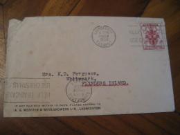 LAUNCESTON Tasmania 1956 Stamp On Cover AUSTRALIA Olympic Games Olympics - Sommer 1956: Melbourne