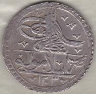 Empire Ottoman . 1 Yuzluk AH 1203 Année 14 (1802). Selim III. Argent - Turquie