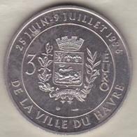 3 Euro De La Ville Du Havre. Pont De Normandie 1996 - Euros Of The Cities