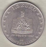 1,5 Euro De Montpellier 1997 Centenaire De Sup De Co - Euros Of The Cities