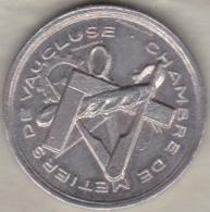 Médaille Chambre Des Métiers De Vaucluse, 2e Salon Des Artisans 1988 Avignon - France