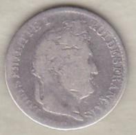 1/2 Franc 1835 A (Paris), Louis Philippe ,  En Argent - France