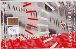 NEDERLAND CHIP TELEFOONKAART CRD 548 * HAAGSCHE COURANT * Telecarte A PUCE PAYS-BAS ONGEBRUIKT MINT - Privé