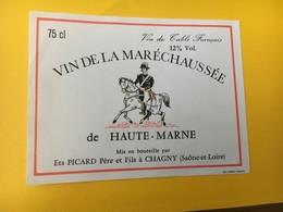 8843 - Vin De La Maréchaussée De Haute-Marne - Etiquettes