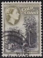 Gold Coast    .         SG   .   164        .       O   .      Cancelled   .   /   .   Gebruikt - Gold Coast (...-1957)