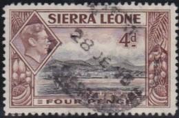 Sierra  Leone    .         SG   .      193       .       O   .      Cancelled   .   /   .   Gebruikt - Sierra Leone (...-1960)