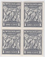 Newfoundland          .   SG   .      222  Bloc  Of  4.      **     .      MNH    .   /   .     Postfris - Newfoundland