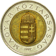 Monnaie, Hongrie, 100 Forint, 1997, Budapest, TTB, Bi-Metallic, KM:721 - Hungary