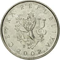 Monnaie, République Tchèque, Koruna, 2002, TTB, Nickel Plated Steel, KM:7 - Tchéquie