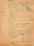 VP12.957 - MILITARIA - LE MANS 1918 - Génie Militaire - Problème ....... - Documents