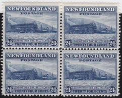 Newfoundland          .   SG   .      228  Bloc  Of  4     .      **     .      MNH    .   /   .     Postfris - Newfoundland