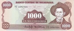 Nicaragua P.156 1000  Cordobas 1985 Unc - Nicaragua