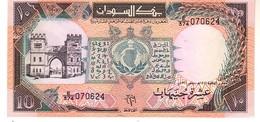 Sudan P.46 10 Pounds 1991  Unc - Sudan