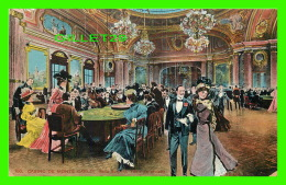 MONTE CARLO, MONACO - LE CASINO, SALLE SCHMITT, TABLE DE ROULETTE - - Monte-Carlo